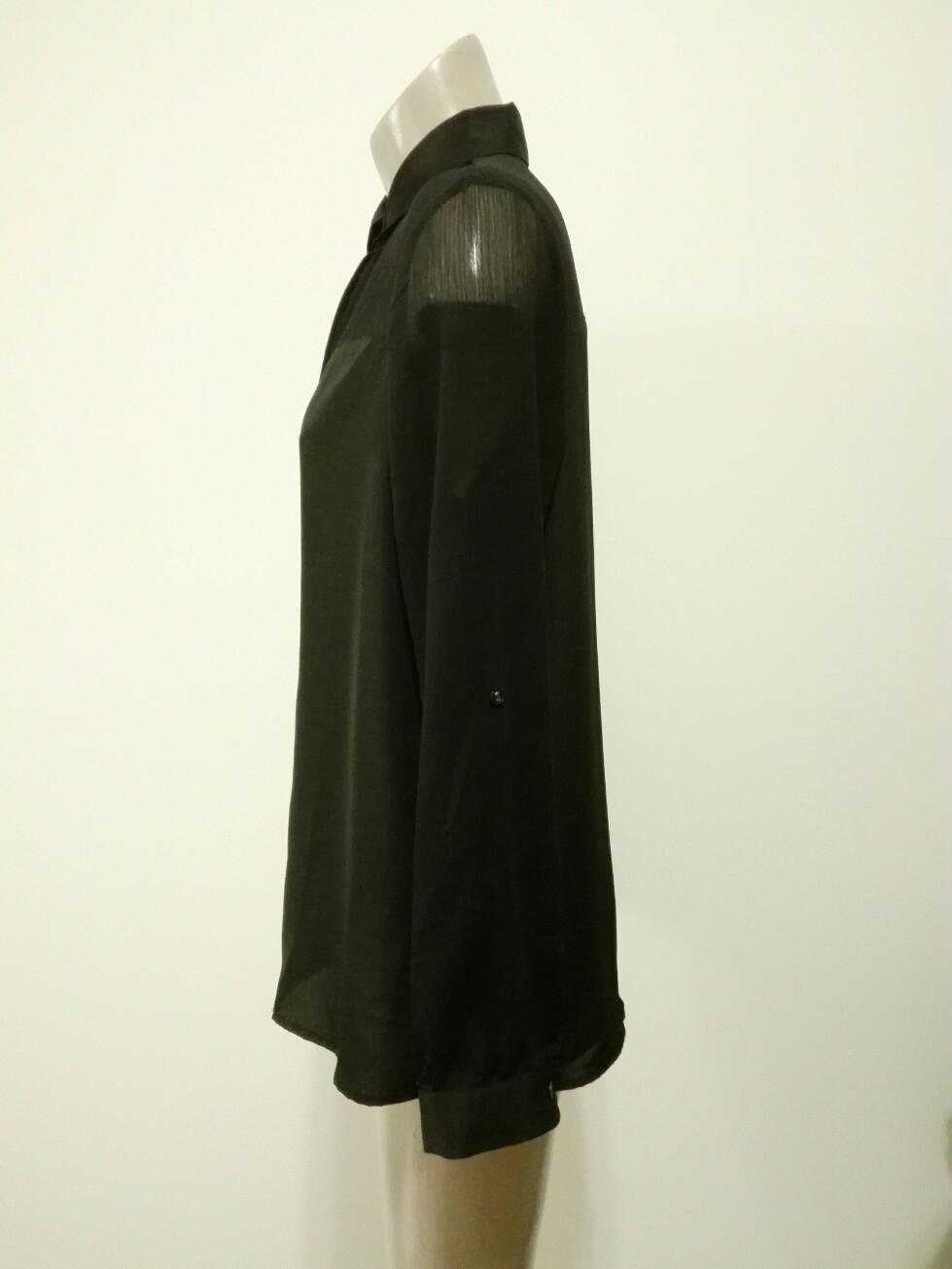 Jeans West Black Shirt Size 12 Preloved For Relove